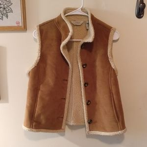 LL Bean Sherpa Vest